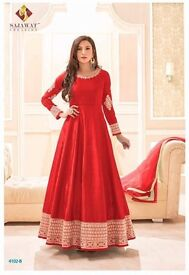 Marina Gold 4102D Anarkali Long Salwar Kamiz