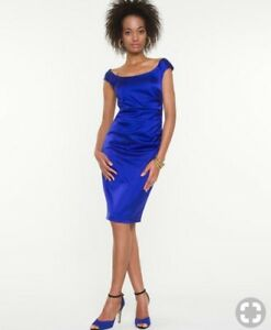 Royal Blue le Chateau Cocktail Dress