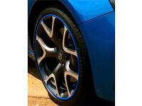 Alloy wheel guards Adam Corsa Astra GTC Insignia VXR SRI CDTI Zafira Vectra Omega Tigra Signum