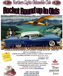 OLDSMOBILE SHOW - ROCKET ROUND UP IN OLDS