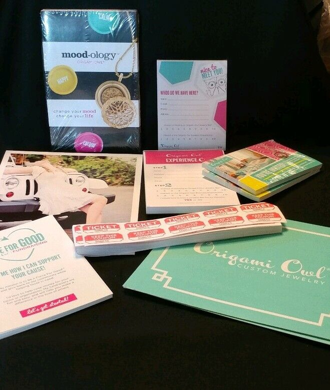 Origami Owl Consultant Supplies Paperwork Cards Signs Order Forms Tickets, Etc.
