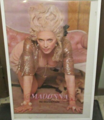 MADONNA POSTER NEW 2004 RARE VINTAGE COLLECTIBLE OOP
