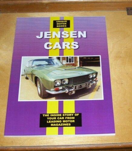 JENSEN+CARS+ROAD+TEST+REPRINTS+BOOK+INTERCEPTOR+541+CV8+FF++1952+on+