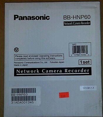 New Panasonic Bb-hnp60 Network Camera Mgt Recording Windows Software
