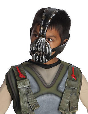 Batman Dark Knight Movie Bane 3/4 Mask Child Costume Licensed DC Comics](Kids Bane Costume)