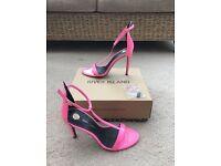 River Island pink heels (size 6)