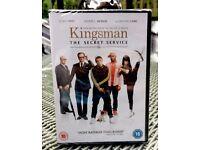 Kingsman The Secret Service DVD *BRAND NEW + SEALED*