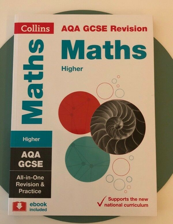 Collins aqa gcse maths revision book in brighton east sussex collins aqa gcse maths revision book fandeluxe Images