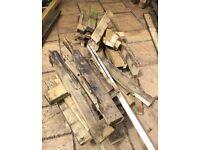 Free firewood wood. Various sizes