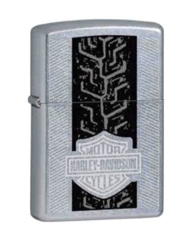 Stunning Retired Harley Davidson Tire Tread Zippo Lighter
