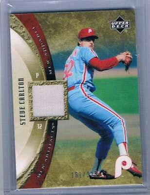 2005 Artifacts MLB Prendas de Vestir #Ca Steve Carlton Camiseta Mem /...