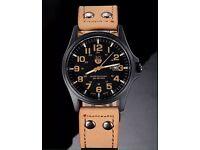 Brand new vintage looking watch, waterproof, date men's watch- ideal gift