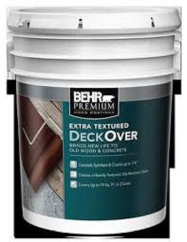 Behr Advanced DeckOver Extra Textured Coating Terra Cotta SC-118 5-Gallon