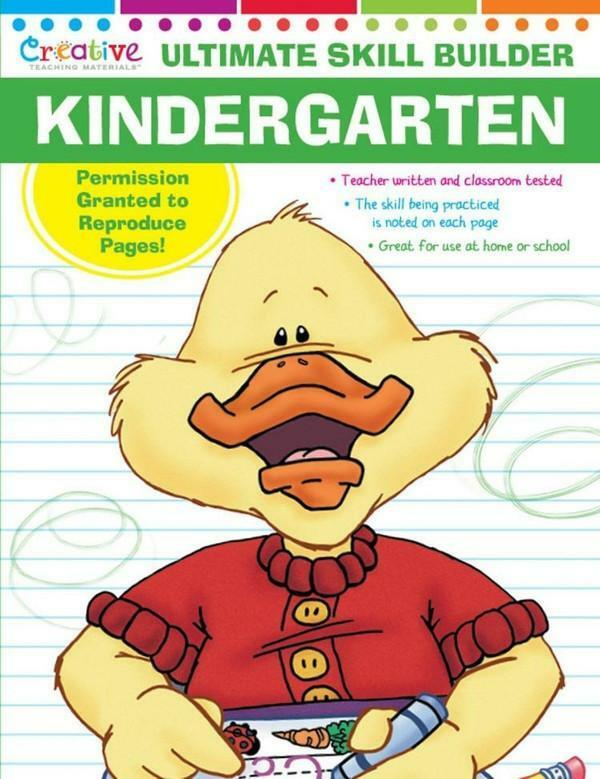 NEW 320pg Ultimate Skill Builder - Kindergarten - Workbook Educational Learning