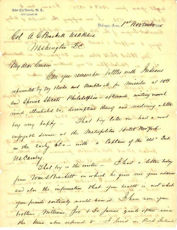Col. Brackett - BATTLE OF BIG DRY WASH, Arizona Territory