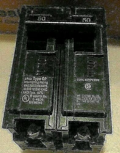 SIEMENS Q230/250 Type QP Circuit Breaker 2 Pole 30/50 Amp NEW