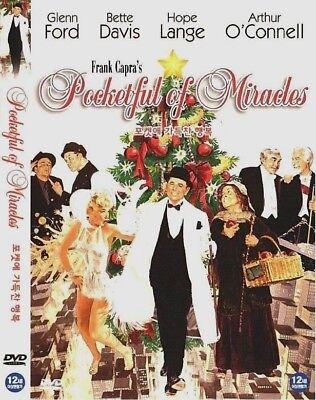 POCKETFUL OF MIRACLES (1961) Frank Capra [DVD] FAST SHIPPING