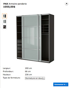 GRANDE ARMOIRE DRESSING