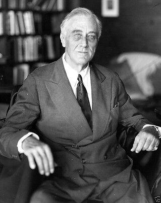 Last photograph taken of President Franklin D. Roosevelt Warm Springs 8x10 Photo