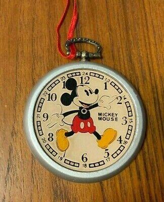 Disney Mickey Mouse Pocket Watch Ornament Kurt Adler