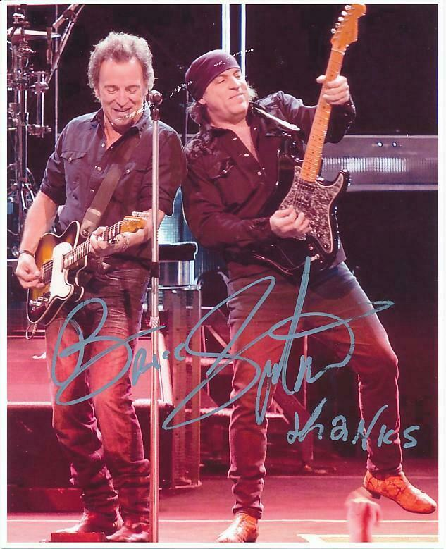 Bruce Springsteen- Color Signed Photograph in Person