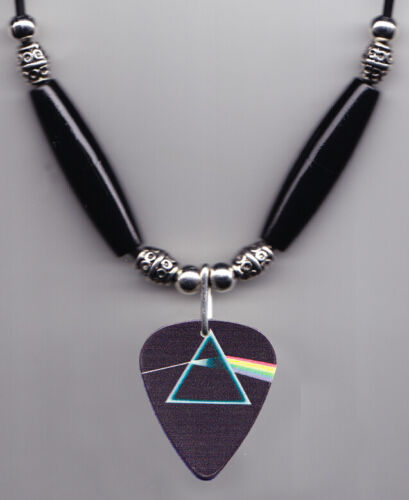 Pink Floyd Dark Side Of The Moon Guitar Pick Necklace