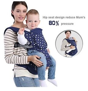 Baby carrier multi positional with seat insert new
