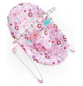 Bright Stars Baby girl bouncer