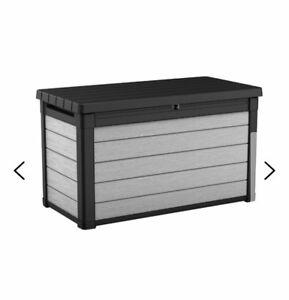 Deck storage box (Denali 100 Gallon Resin Deck Box) - New