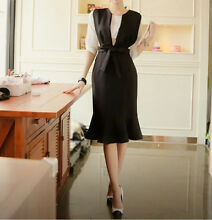Korea Style New Trend Black Long Dress! West Ryde Ryde Area Preview