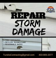 Is there a SMALL Exterior Repair you need done?? Contact us!