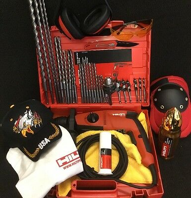 Hilti Te 2 Drill New Free Thermo Bits A Lot Of Extras Fast Ship