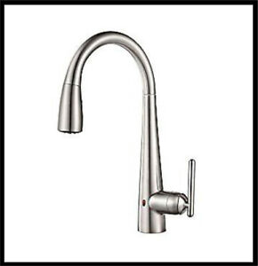PFISTER LITA TOUCHLESS FAUCET BRAND NEW IN BOX - BRUSHED ALUM
