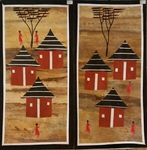 African Craft Art sectional wall hangings