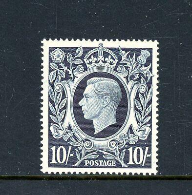 Great Britain  1939/48    10s Dark Blue  L.H.M.      (P1189)