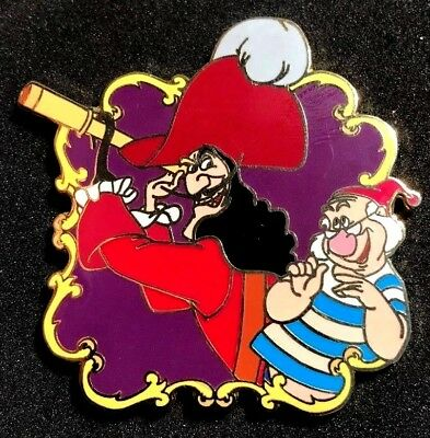 Captain Hook And Mr Smee (DISNEY AUCTIONS 2004 CAPTAIN HOOK AND MR. SMEE LOOKING THRU SPYGLASS LE 500)