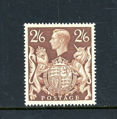 Great Britain  1939/48    2s 6d Brown  unmounted MINT      (P1188)