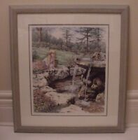 "Framed Laura Berry limited edition print ""Wish I May"""