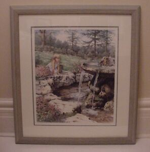 """Framed Laura Berry limited edition print """"Wish I May"""""""