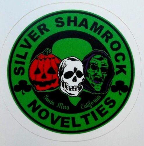 """Halloween 3 Silver Shamrock Novelties Sticker Decal New 2.75"""" x 2.75"""""""