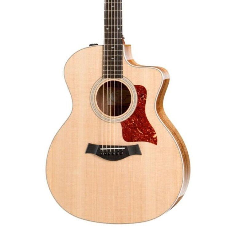 Taylor 214CE Koa Grand Auditorium Acoustic Electric Guitar with Bag