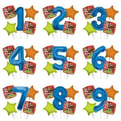 Disney Toy Story 5pc Bouquet Custom Age Birthday Foil Balloons Decorations](Custom Birthday Balloons)