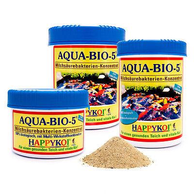 AQUA-BIO-5® Milchsäure-Bakterien Pulver für 75.000 L Koi Teich Filter Bakterien