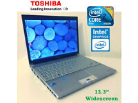 May Deliver - Ultra Thin Toshiba Portege Laptop 1.5cm thick - Intel 2.6Ghz - Wireless - DVD-RW