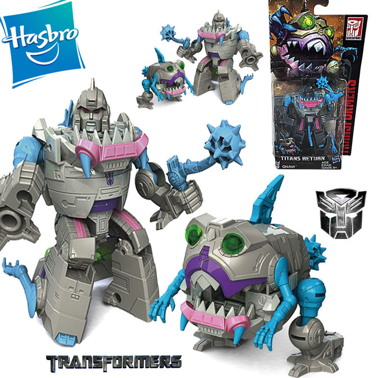 "Transformers SHOCKWAVE Hasbro Titans Return Legends Class 4/"" Figure Toy In Stock"