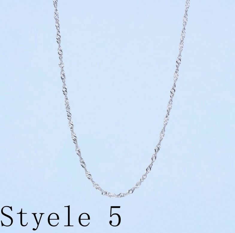 Купить Unbranded - REAL Classic  925 Sterling Silver Chain Necklace SOLID SILVER .925 Jewelry Italy