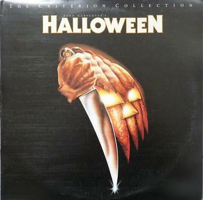 HALLOWEEN 1978~Jamie Lee Curtis, Donald Pleasence~Criterion Collection Laserdisc - Halloween 1978 Donald Pleasence
