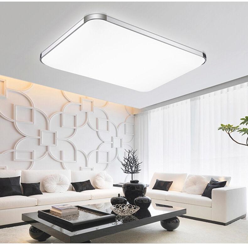 72w gro led deckenleuchte deckenlampe wohnzimmer leuchte. Black Bedroom Furniture Sets. Home Design Ideas