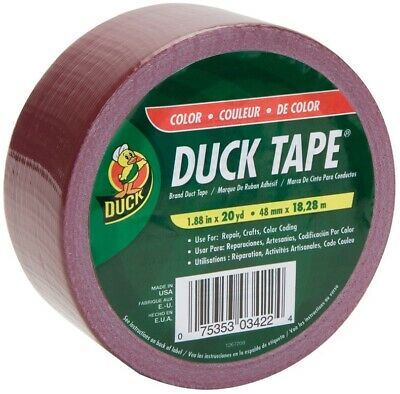 Duck 1264519 Maroon Color Duck Tape 1.88 X 20 Yds