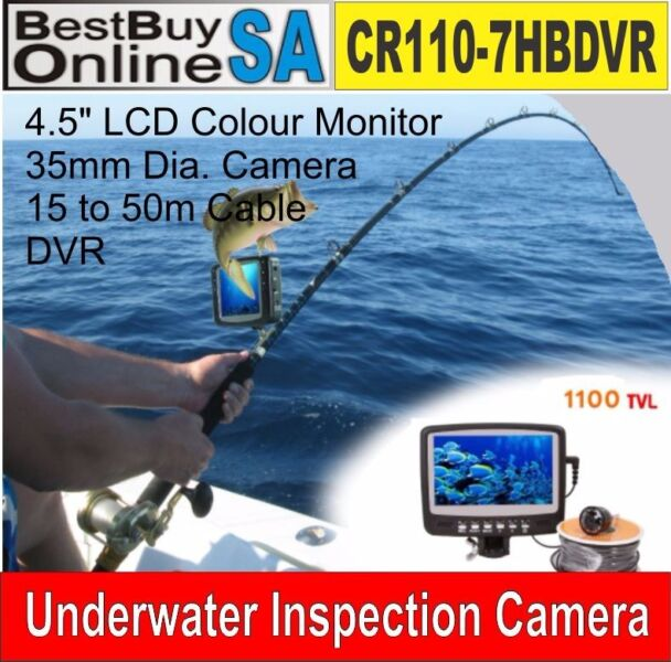 CR110-7HBDVR Underwater Camera System - Fishing Camera (with DVR)